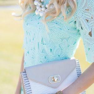 Dresses & Skirts - Mint Lace Dress