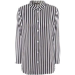 Women's Black And White White Hm Button Down Shirt on Poshmark
