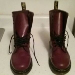 Cherry Red 1490 Dr Martens