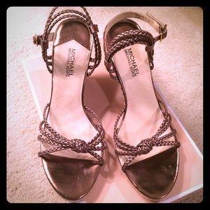 """MICHAEL Michael Kors Shoes - MICHAEL Michael Kors """"Palm Beach Sandal"""" Wedges"""