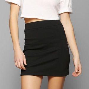 UO Black Mini Skirt