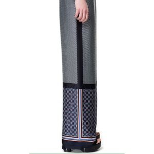 Zara palazzo ethnic handkerchief wide leg pant M