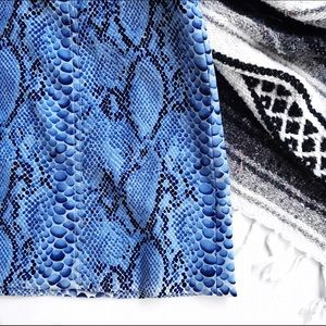 Alberto makali for cache snakeprint skirt
