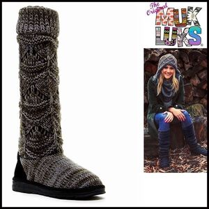 Muk Luks Shoes - ❗1-HOUR SALE❗MUK LUKS Tall SWEATER BOOTS Boots