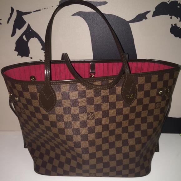 cf36397e59fc Louis Vuitton Handbags - Louis Vuitton Damier ebene neverfull MM TH0038