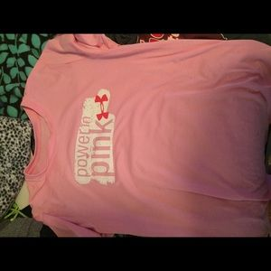 Power of pink shirt small