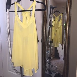 Ovi Tops - Pretty yellow top 💛
