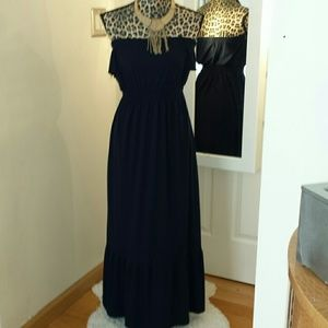 Route 66 Dresses & Skirts - Navy blue maxi dress