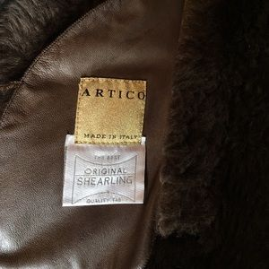 Artico Jackets Amp Coats Fur Shearling 100 Genuine Leather