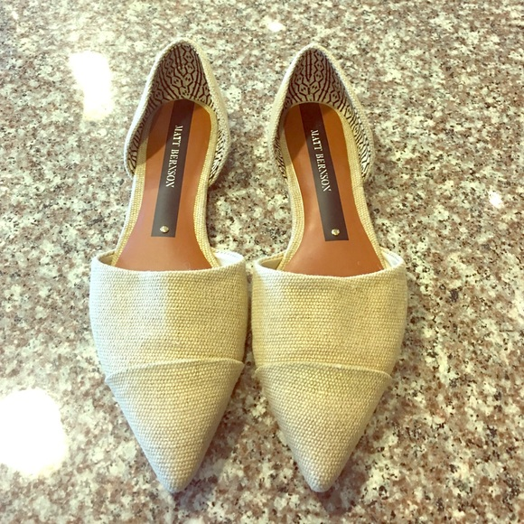 many kinds of for sale Matt Bernson Suede d'Orsay Flats enjoy cheap price cheap sale recommend p692UfWHv