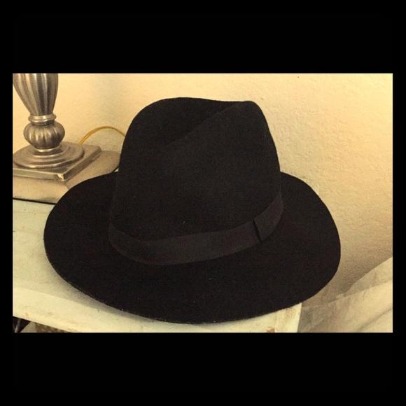 b5d94e5def339c D&Y Accessories | Dy Nordstrom Bp Black Wool Panama Hat | Poshmark