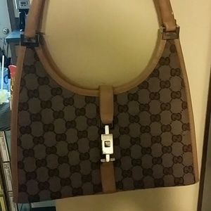 Perfect Authentic GUCCI Jackie O Handle Hobo Bag