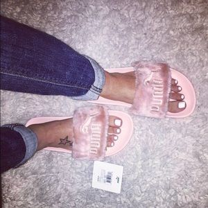 8321ceaa238 Rihanna Shoes - Rihanna Fenty slide