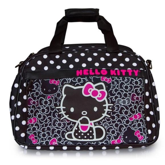 cfd24c8d201b Hello Kitty Handbags - Hello Kitty Travel Duffle Bag 💕