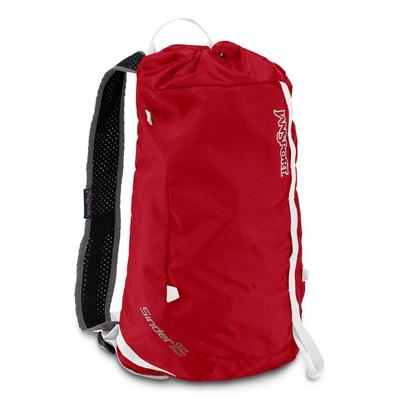 57% off Jansport Handbags - Jansport Sinder 15 Red and Black ...