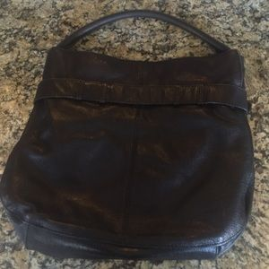a2a5ed79b446 Burberry Bags - Burberry Black Buffalo Leather Belted Shoulder Bag