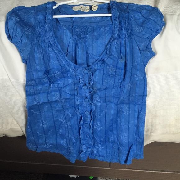Guess Blue Blouse 98