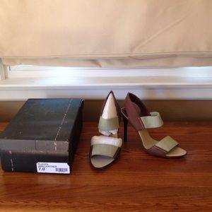 Steven by Steve Madden Shoes - Steven by Steve Madsen tan heels size 7 never worn