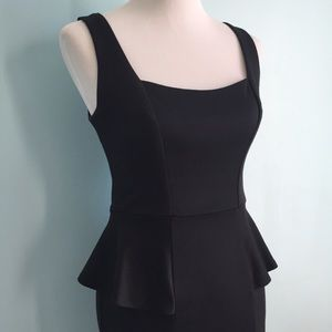 Accidentally in Love Dresses & Skirts - Black Peplum Dress