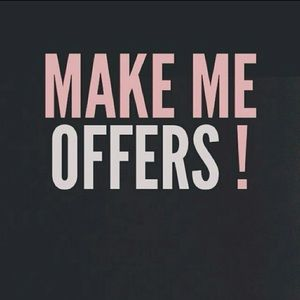 ALL REASONABLE OFFERS WILL BE ACCEPTED!!