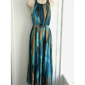 Anthropologie Dresses Reserved Reine Paper Crane Rivier Midi Dress