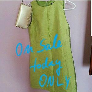 Vintage!!! DKNY silk shift dress!!!