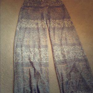 Pants - Printed lounge pants