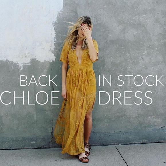 6784b65b3e2 PREORDER boho lace maxi dress