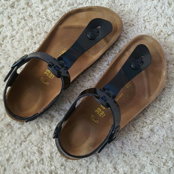 0a601e31a Birkenstock Shoes - BIRKENSTOCK thong with back strap sandal