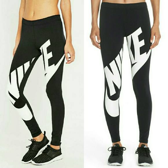 b108c57928d3d Nike Pants | Legasee Exploded Logo Leggings | Poshmark