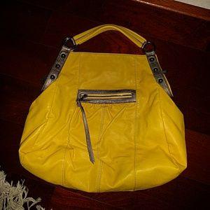 Leather hobo purse