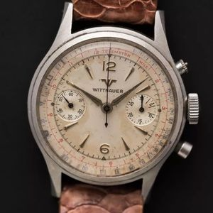 Wittnauer chronograph vintage for sale