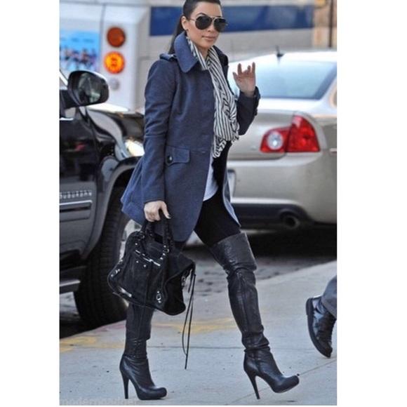 e3bd2eba94c Report Signature Fairfax thigh high leather boots