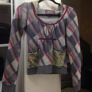 💟 Anthropologie Scrapbook Cropped Sweater