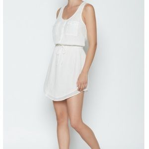 Joie Dresses & Skirts - Sold Out Soft Joie White Mikayla Drawstring Dress