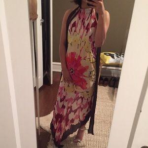 🆕💋missoni silk scarf floral halter dress ITALY