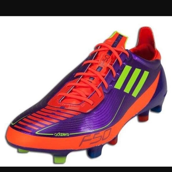 Adidas Shoes - Adidas Pro Cleats F50 Adizero Prime Fluorescent 7