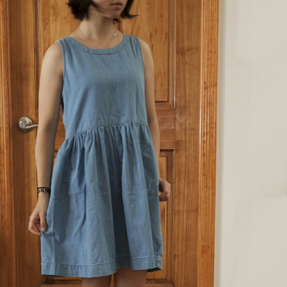 GAP - GAP Girls Sleeveless Denim Dress From Annieu0026#39;s Closet On Poshmark