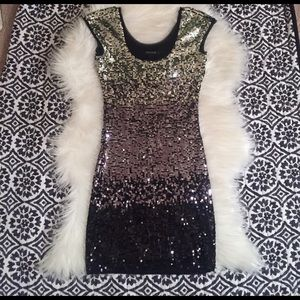 White House | black market sequin dress New Years