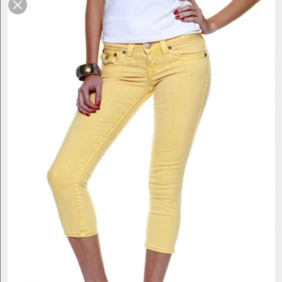 Light Yellow Jeans for Women