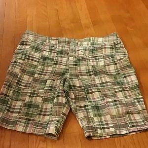 Sonoma Pants - CUTE LITTLE PASTEL PLAID SHORTS