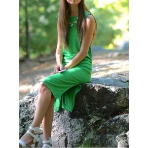 Topshop Dresses & Skirts - HP🎉[topshop] green dress w open back
