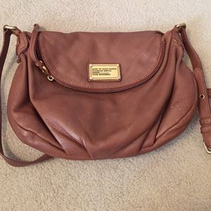 Marc By Marc Jacobs Satchel in Cognac
