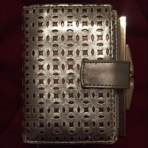 Urban Outfitters Silver Wallet