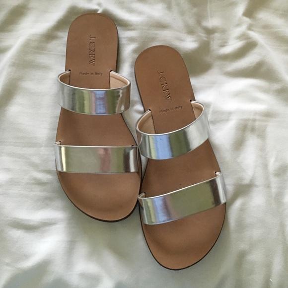 91712590d2c11 J. Crew Shoes - J. Crew Malta Mirror Double Strap Sandals