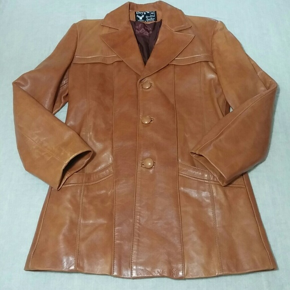 57 Off Other Vintage Men S Cognac Colored Leather