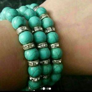 Jewelry - Turquoise Heavy Beads