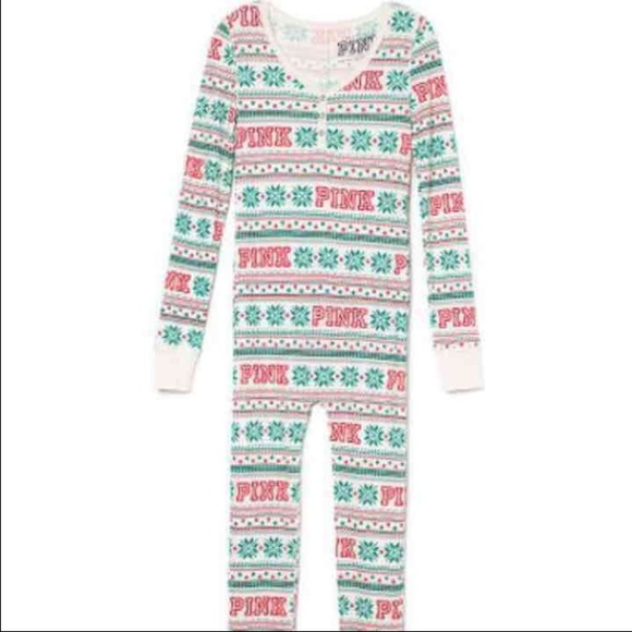 PINK Victoria's Secret - VS PINK Christmas onesie from Jessica's ...