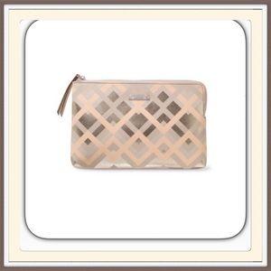 Stella & Dot Handbags - Stella & Dot Metallic Chevron Clutch.    NWT