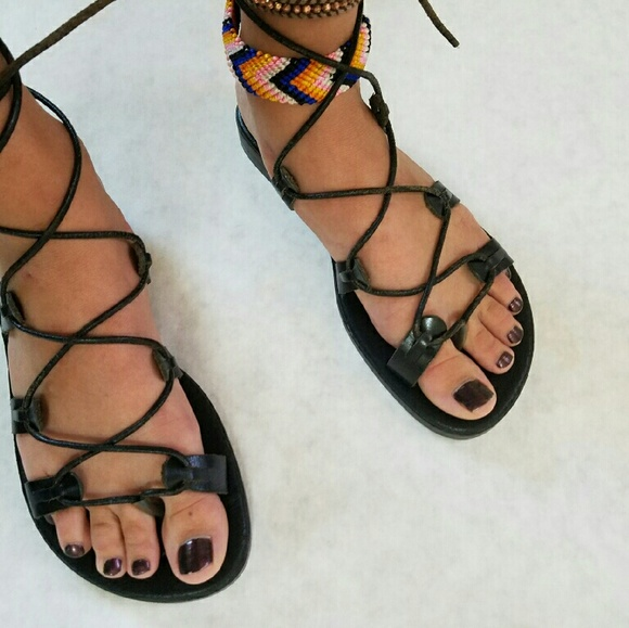 real GREEK gladiator sandals